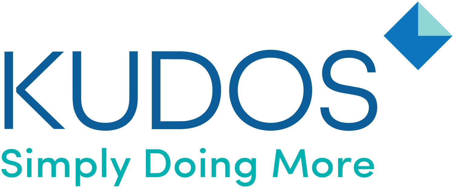 Kudos graphic and logo