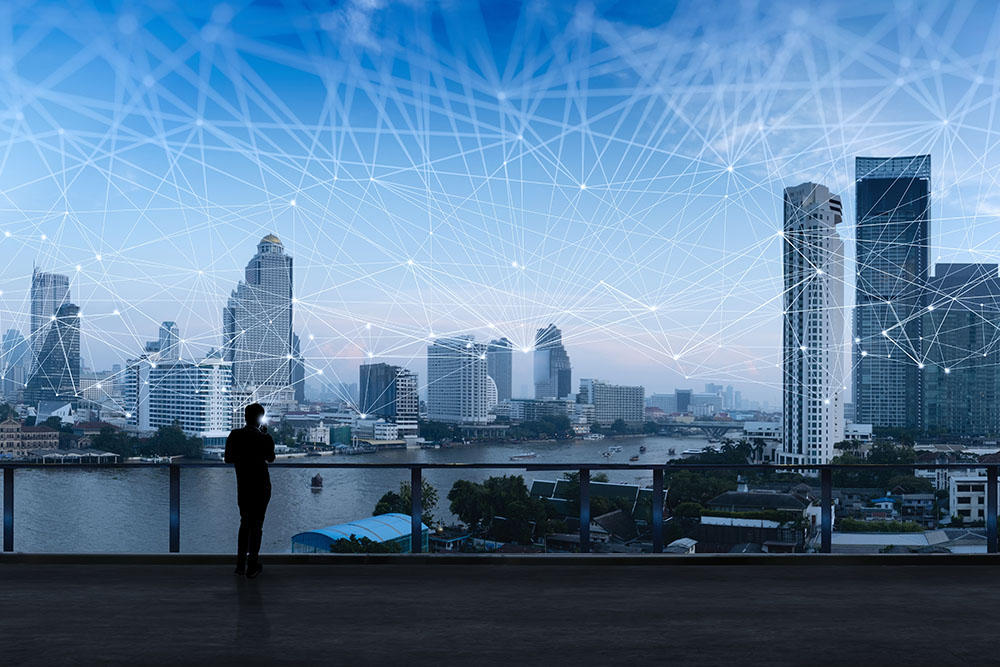 Visual of Connected London Sky representing SIP